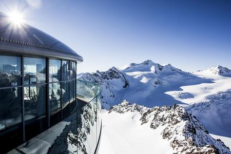 Gletscher Start PITZTAL
